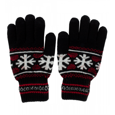 Touchscreen gloves - Hand in glove - Black