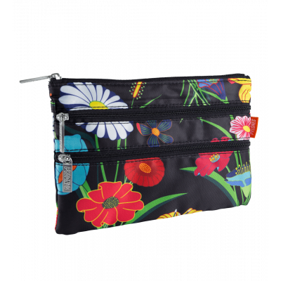 Pochette 3 zips - Zip It - Ikebana