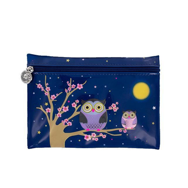 Cosmetic bag - Akademik Blue Owl