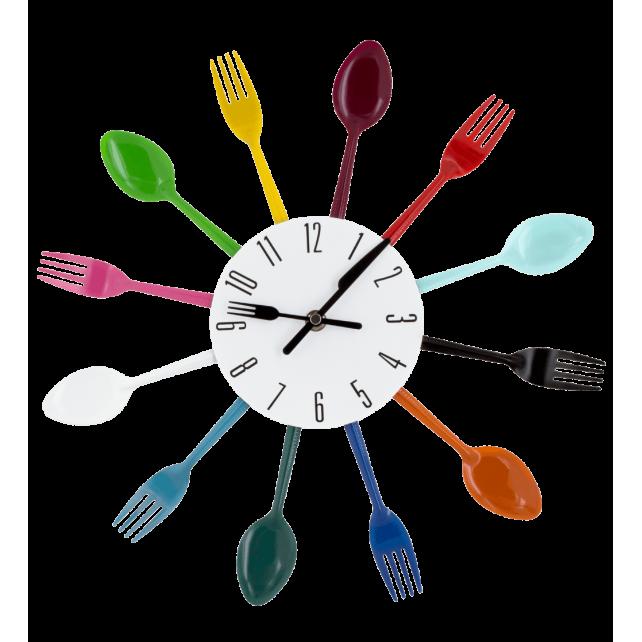 Horloge - Couverts