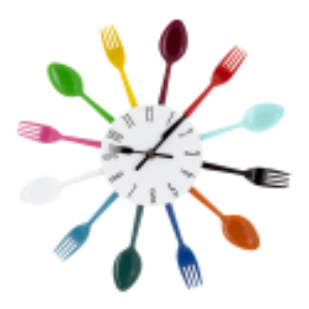 Clock - Cutlery