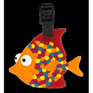 Luggage label - Ani-luggage - Tropical Fish