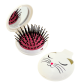 2 in 1 hairbrush and mirror - Lady Retro Unicorn