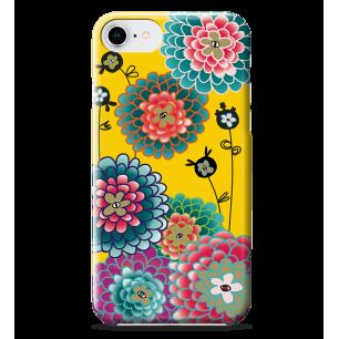 Coque pour iPhone 6S/7/8 - I Cover 6S/7/8 - Dahlia