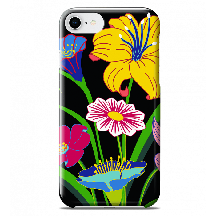 Coque pour iPhone 6S/7/8 - I Cover 6S/7/8 Ikebana