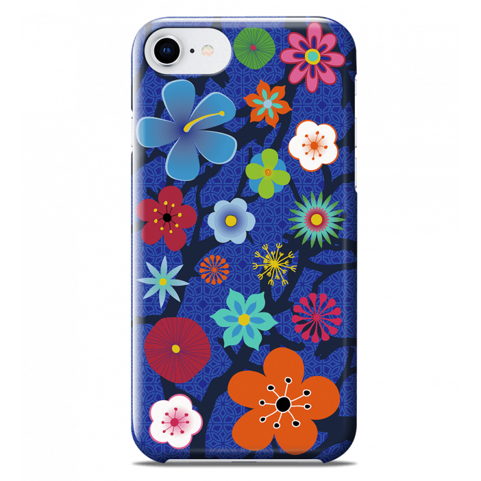 Cover per iPhone 6S/7/8 - I Cover 6S/7/8 Blue Flower