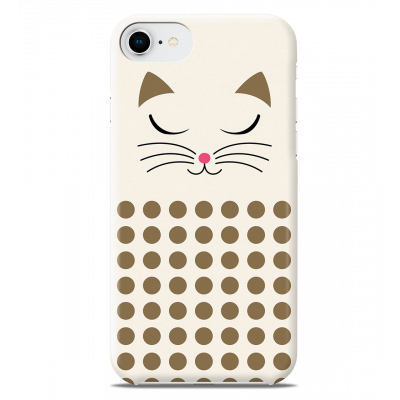 Coque pour iPhone 6S/7/8 - I Cover 6S/7/8 - White Cat