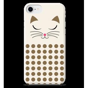 Schale für iPhone 6S/7/8 - I Cover 6S/7/8 - White Cat