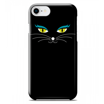 Case for iPhone 6S/7/8 - I Cover 6S/7/8 - Black Cat