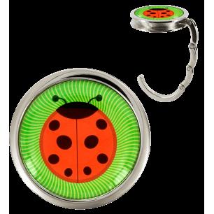 Handbag hook - Dîner en Ville - Ladybird