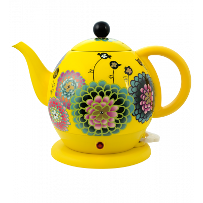 Electric kettle with English plug - Byzance - Dahlia