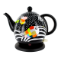 Wasserkocher mit UK Stecker - Byzance UK Jardin fleuri