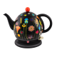 Electric kettle with English plug - Byzance Coquelicots