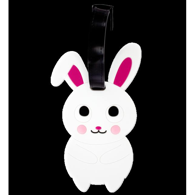 Luggage label - Ani-luggage Rabbit