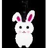 Aniluggage - Etiquette de bagages Rabbit