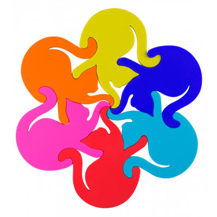 Trivet - Entrechats - Multicolor