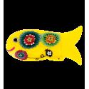 Fish case Santa Claus