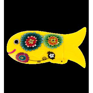 Fischetui - Fish Case - Dahlia