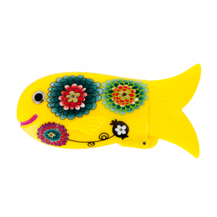 Porta accendino - Fish Case - Dahlia