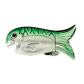 Fish case Green