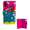 Klappdeckel für iPhone X - I Wallet X Estampe