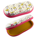 Hard glasses case - Voyage Coquelicots