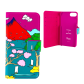 Flap cover/wallet case for iPhone 6, 6S, 7 - Iwallet 2 Scale