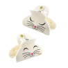 Ladyclip Small - Pince à cheveux crabe White Cat