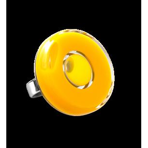 Glass ring - Duo Medium