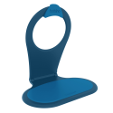 Telephone holder - XL Blue
