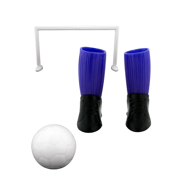 Fingerfußball - Finger football Blau
