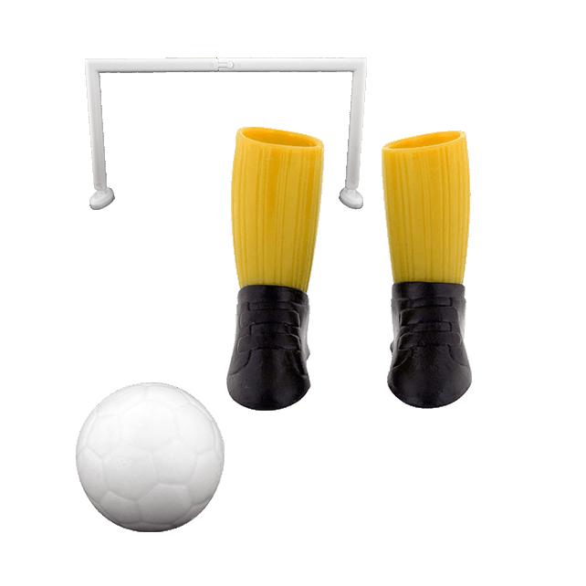 Jeu de foot pour doigts - Finger football Jaune