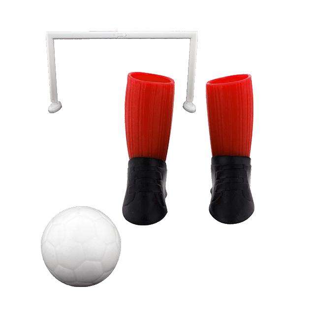 Jeu de foot pour doigts - Finger football Rouge