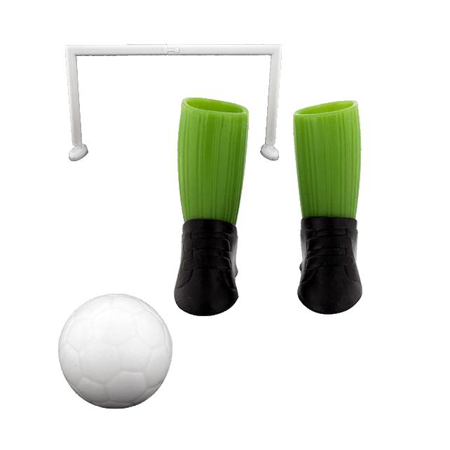 Jeu de foot pour doigts - Finger football Vert