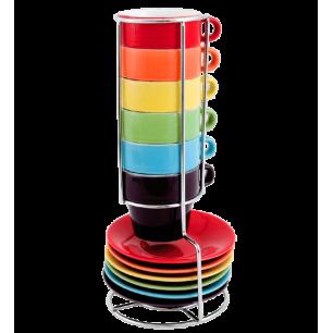 Torre di tazze espresso - Espresso