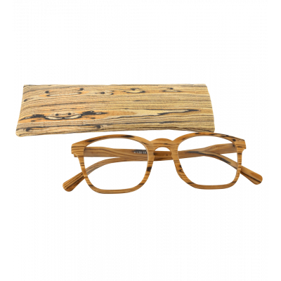 Corrective lenses - Bois Carré - Light brown
