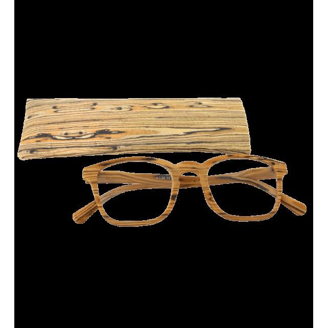 Corrective lenses - Bois Carré - Light brown 250 - Pylones