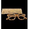 Corrective lenses - Bois Carré - Light brown 150