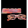 Korrekturbrille - Multicolor - Rosa/Orange 150