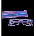 Korrekturbrille - Multicolor - Lila/Blau