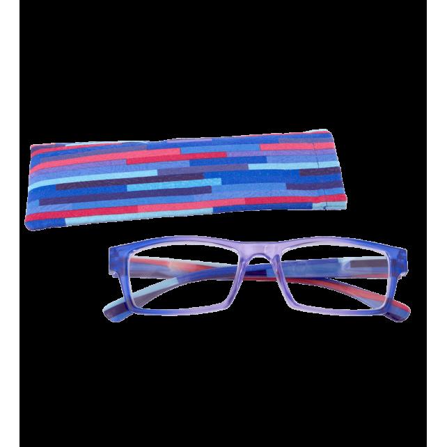 Lunettes de correction - Multicolor - Violet/Bleu