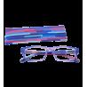 Korrekturbrille - Multicolor - Lila/Blau 150