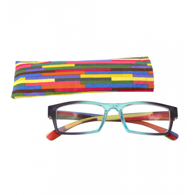 Corrective lenses - Multicolor - Turquoise/Purple