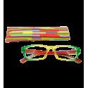 Korrekturbrille - Multicolor - Gelb/Grün