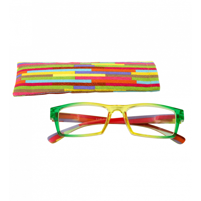 Corrective lenses - Multicolor - Yellow/Green 150