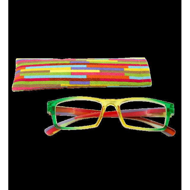 Lunettes de correction - Multicolor - Jaune/Vert 150