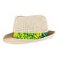 African Spirit  - Chapeau T58 Coral Rainbow