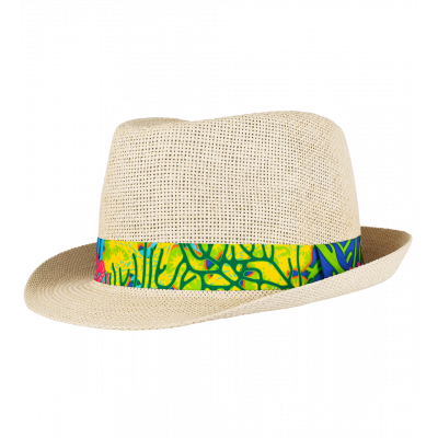 Hat T58 - Protect - Coral Rainbow