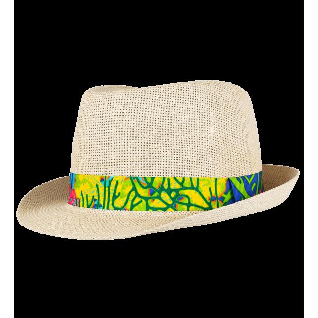 African Spirit - Hat T58 Coral Rainbow