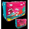 Handtaschen-Organizer - Bag in Bag Coquelicots